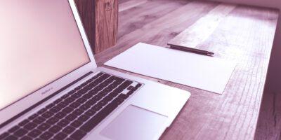 Laptop en notities