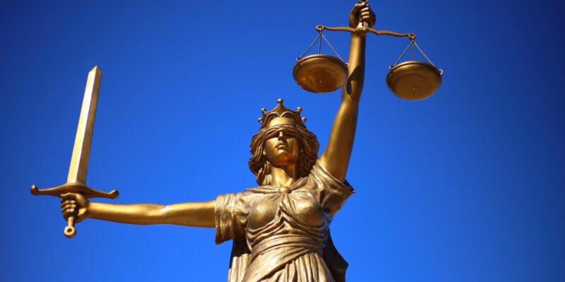 Standbeeld justitie